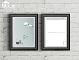"Postkarte ""Ameise mit Wolke"""